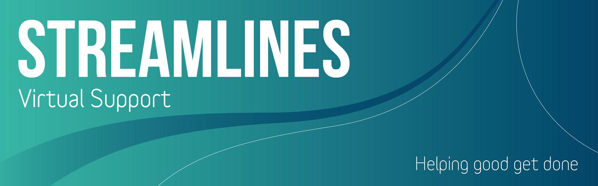 Streamlines Virtual Support header